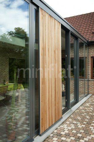 Moderne veranda - Glas veranda   Nhà Khung Sắt   Pinterest ...