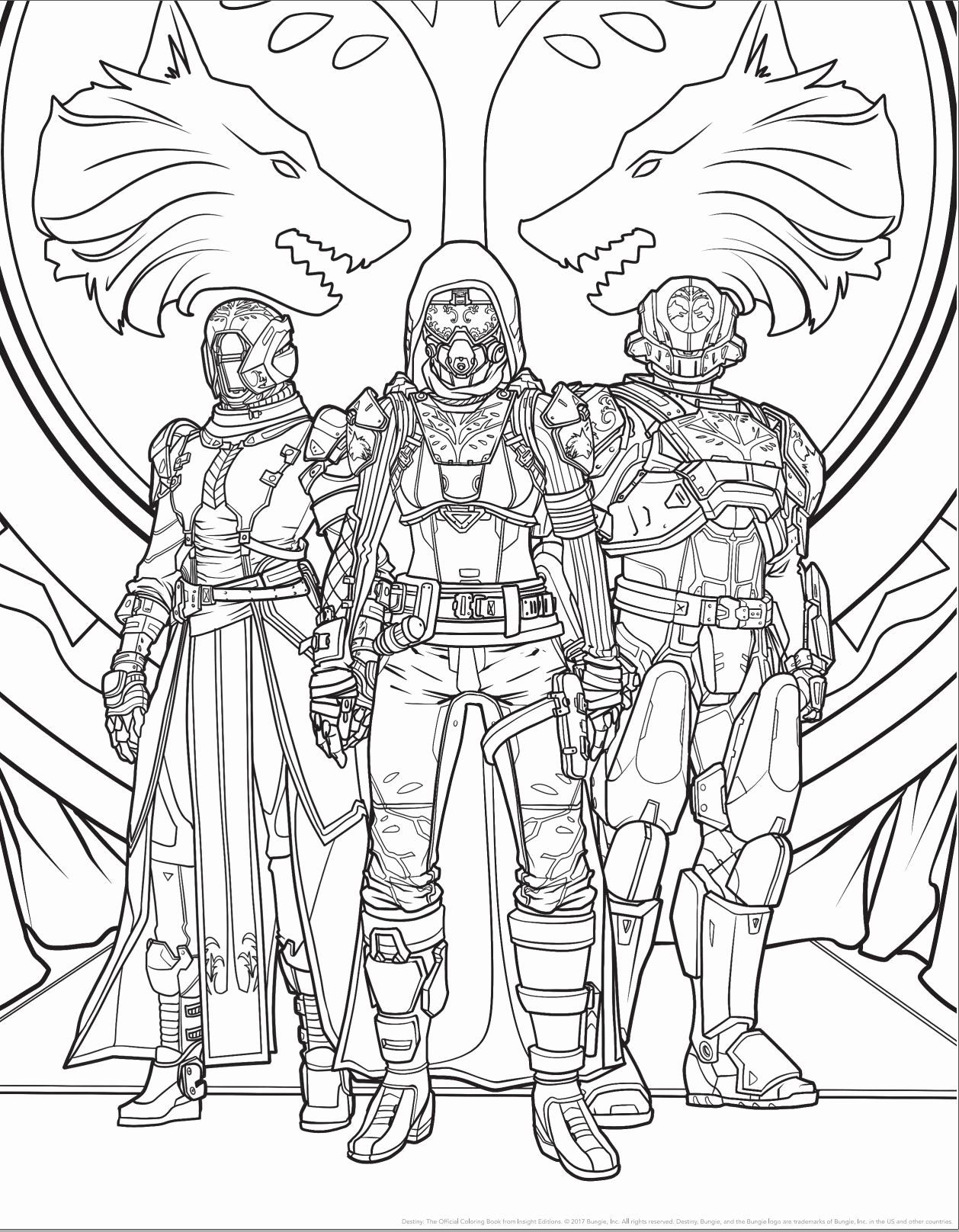 Destiny 2 Coloring Pages Elegant Ahead Destiny 2 S Release An Ficial Destiny Coloring Book Is Ing Games Coloring Pages Pusheen Coloring Pages Cat Coloring Page
