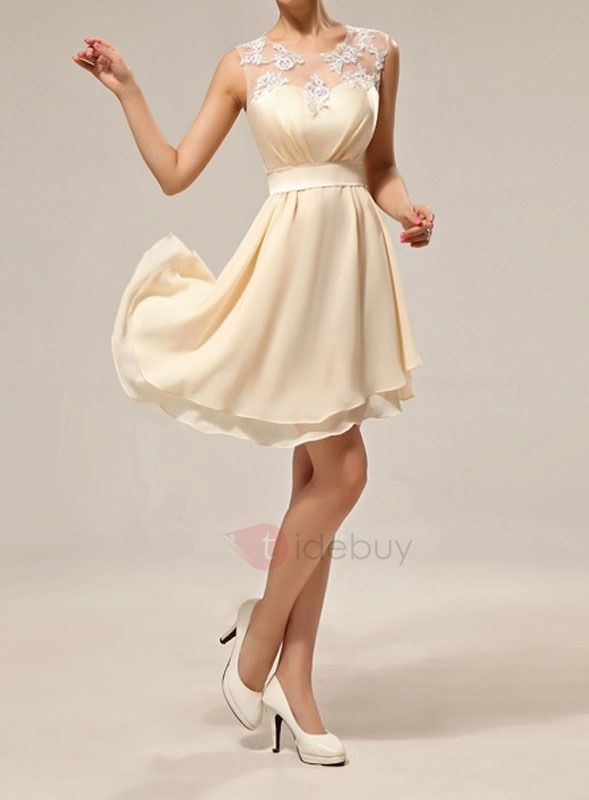 Tidebuy Bridesmaid Dresses Short