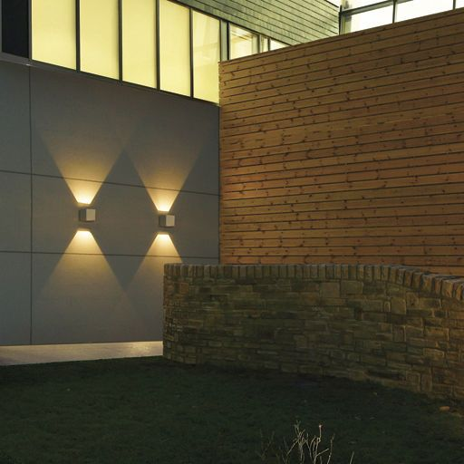 Exterior Wall Light For Public Spaces Led Axyl Thorn