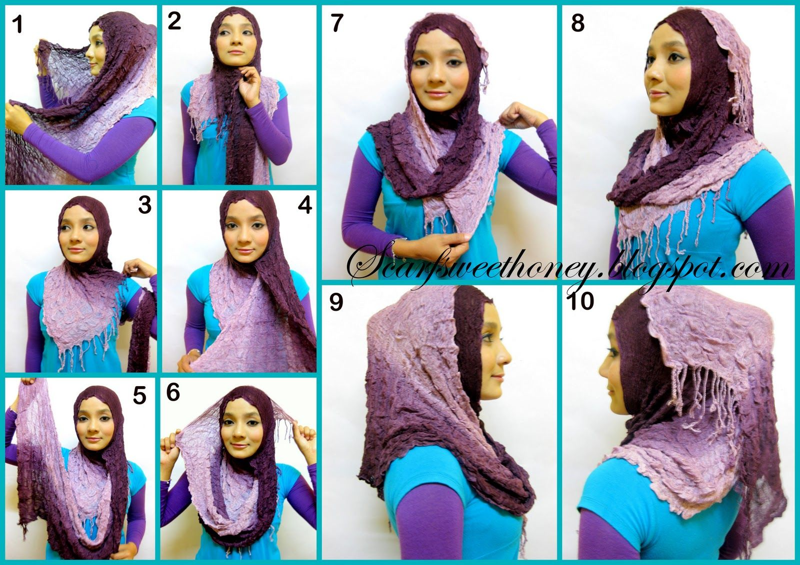 Turkish Hijab Clothescontoh Tutorial Hijab Turkish Hijab