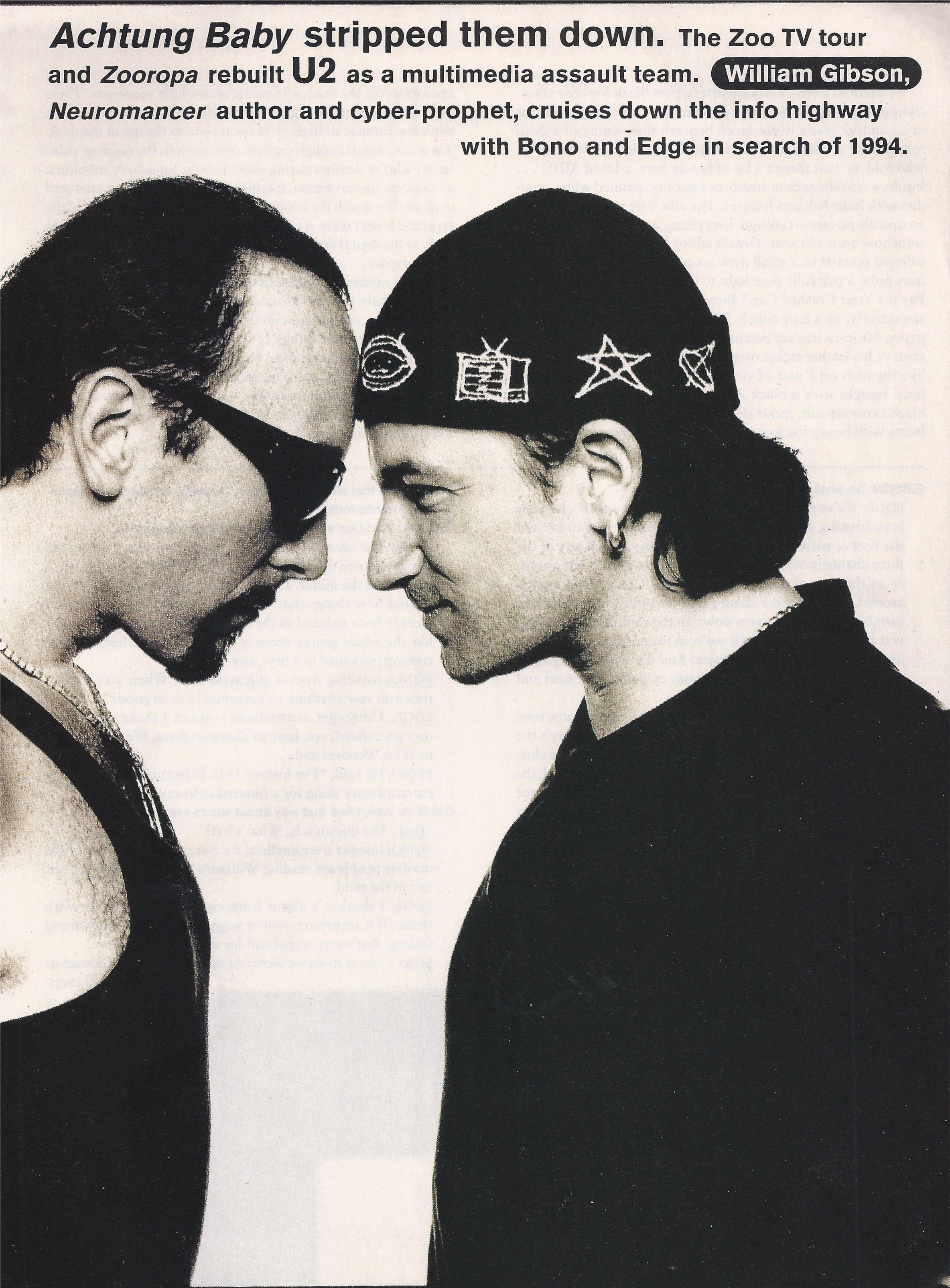 Ros Badger Handknit Amp Embroidered Hat For U2 Zooropa Tour Bono The Edge 1990 S Musica Rock Grupo De Musica Musica