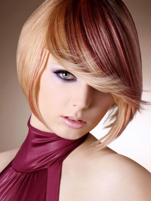 Pictures Of Short Hair Color