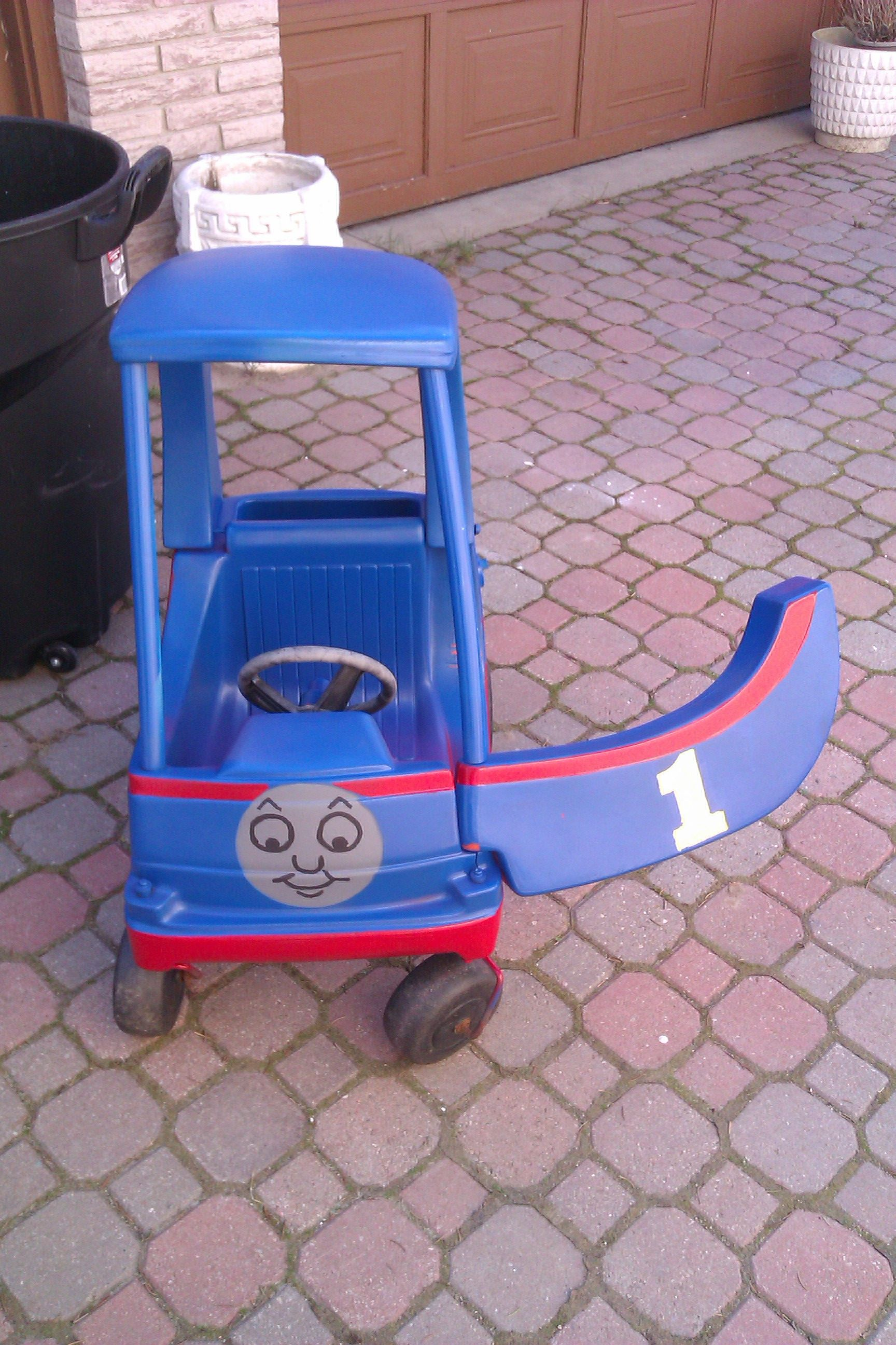 Little tikes thomas the train bed - Pimped Out Little Tykes Cozy Coupe Thomas The Tank Engine