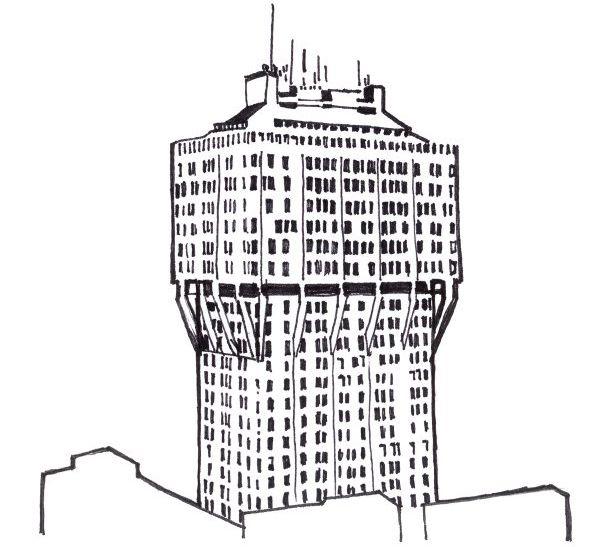 Arkitekturrunda I Milano