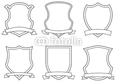 Crest Templates Coat Of Arms Art Lessons Arms