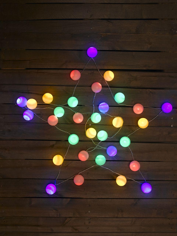 #DIY- Guirlande lumineuse de #Noel