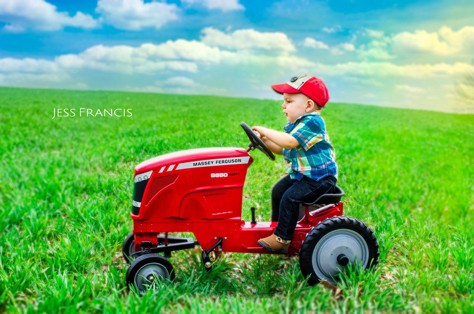 One year pictures Tractor pictures Country boy little farmer