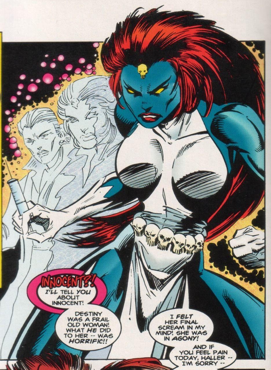 Mystique Mystique Marvel Mystique Comic Marvel Comics