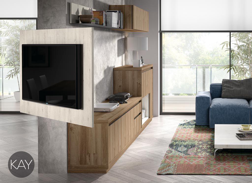 Sobre el mueble de puerta y cajones se ha instalado un for Mueble salon cajones