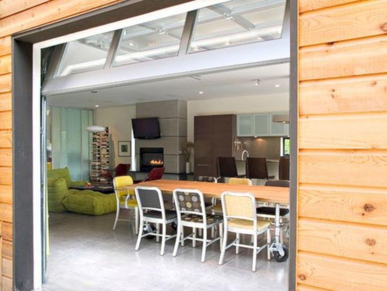 16 Extraordinary Renovation Ideas To Spice Up Your Garage Garage Door Design Garage To Living Space Garage Interior