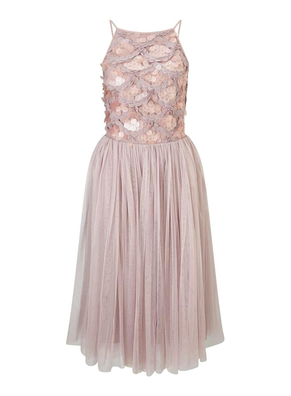 bfe0f6b15388 Sequin Mesh Midi Dress   Wear   Pinterest