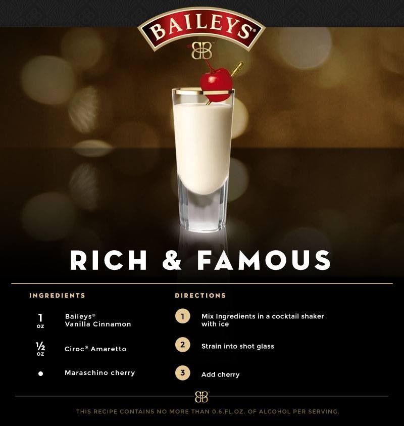 Baileys Drinks, Baileys Recipes