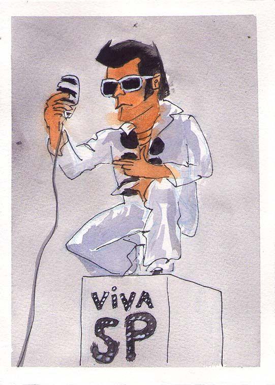 Elvis da Paulista - a venda aqui http://www.pinkflamingos.com.br/product/911708/elvis-da-paulista
