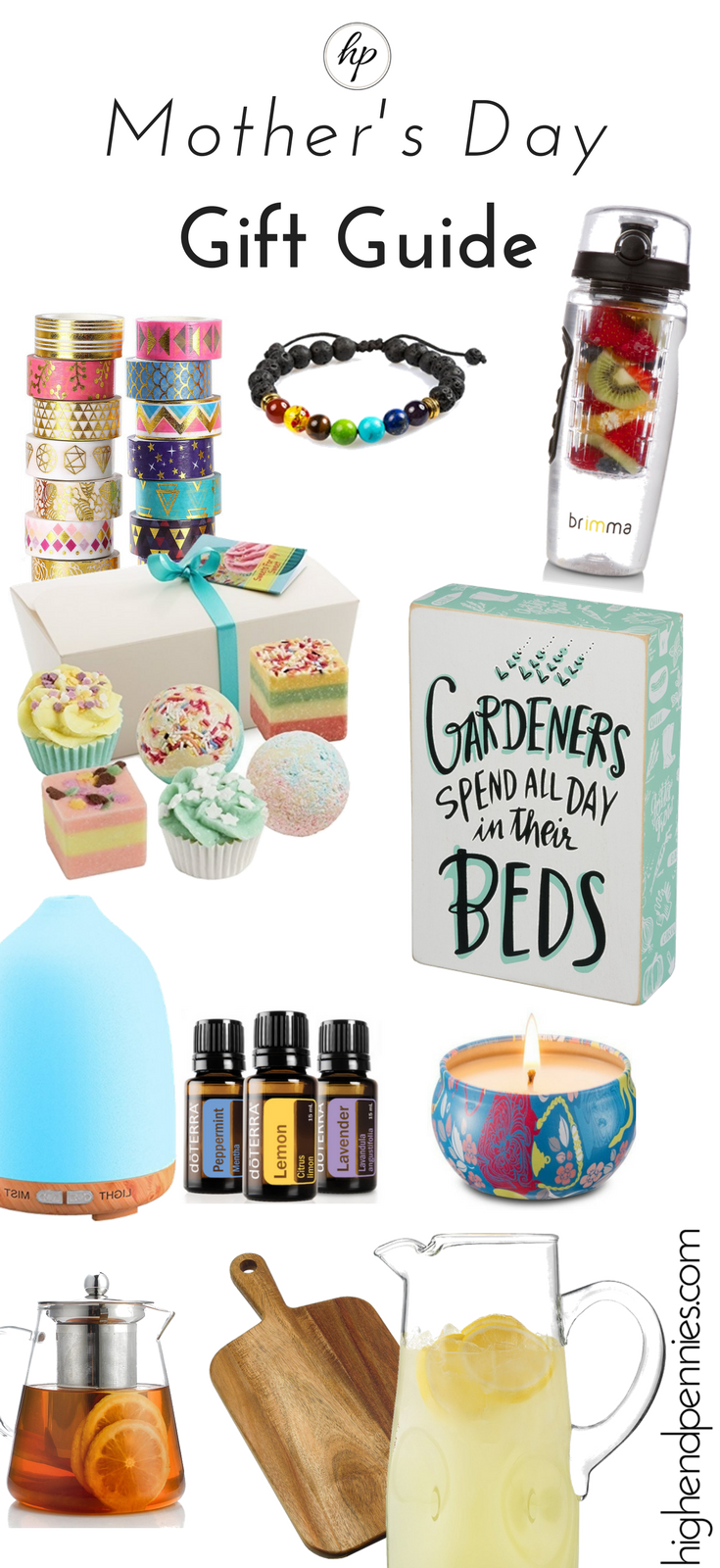 Mother's Day Gift Guide Under 20 (With images) Good