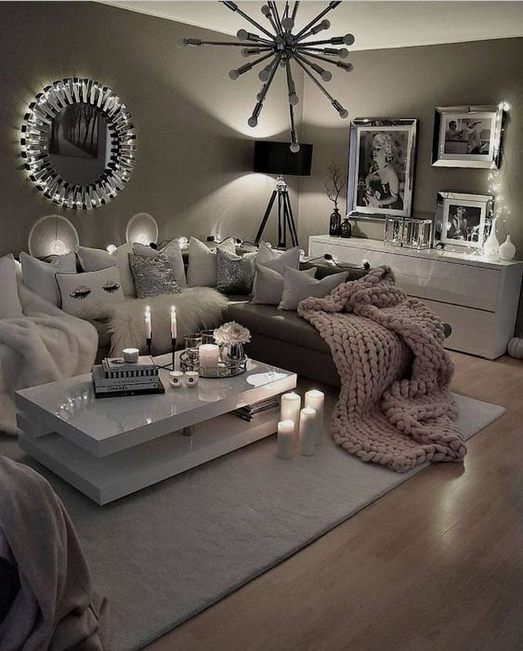 Pin By Melanie Zecevic On Interior Design Living Room Decor Apartment Living Room Decor Cozy Cozy Living Rooms