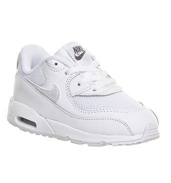 1dfa7321000c Nike Air Max 90 Td White Mono Leather Mesh - Unisex
