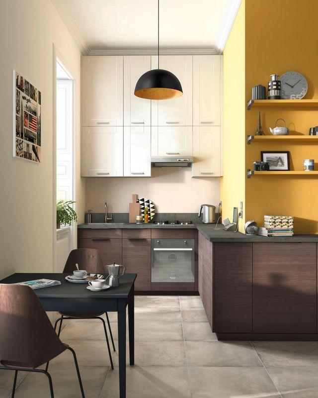 12 modèles de petite cuisine Cuisine en chêne, Castorama et Pied