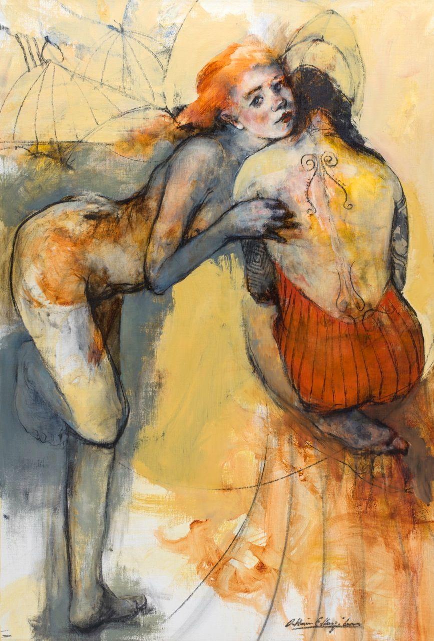 Cathrine EdlingerKunze Abstract painter in 2020 Art