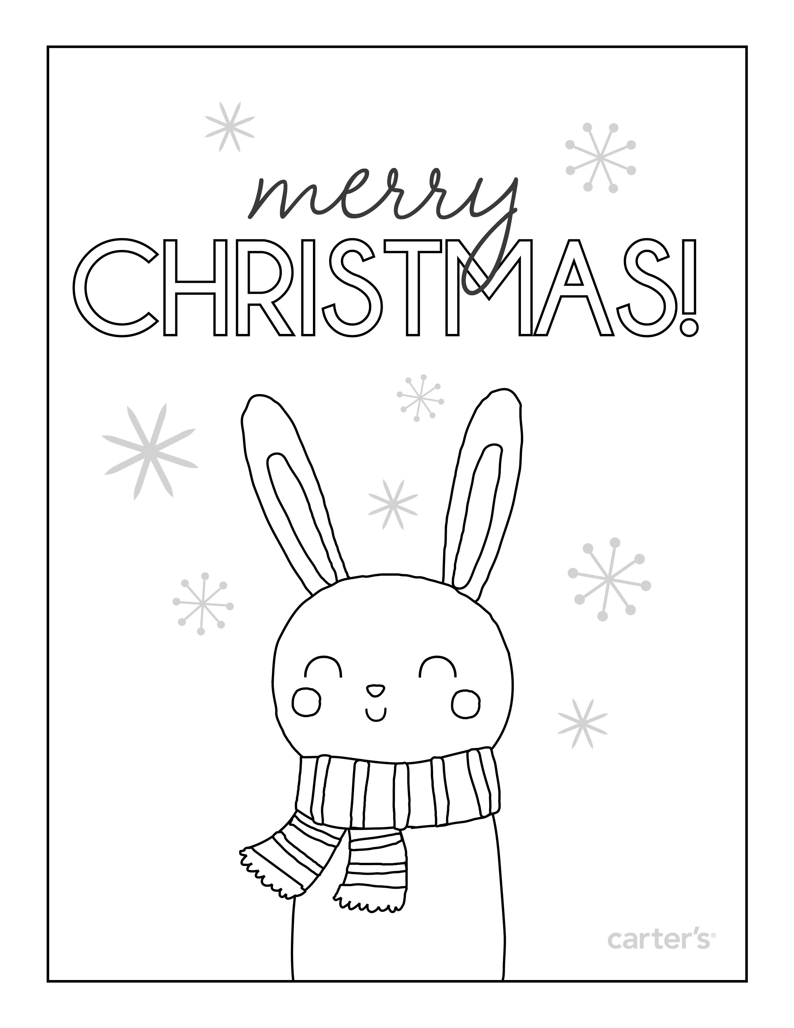 Sites Carters Site Christmas Coloring Pages Kids Christmas Coloring Pages Santa Coloring Pages
