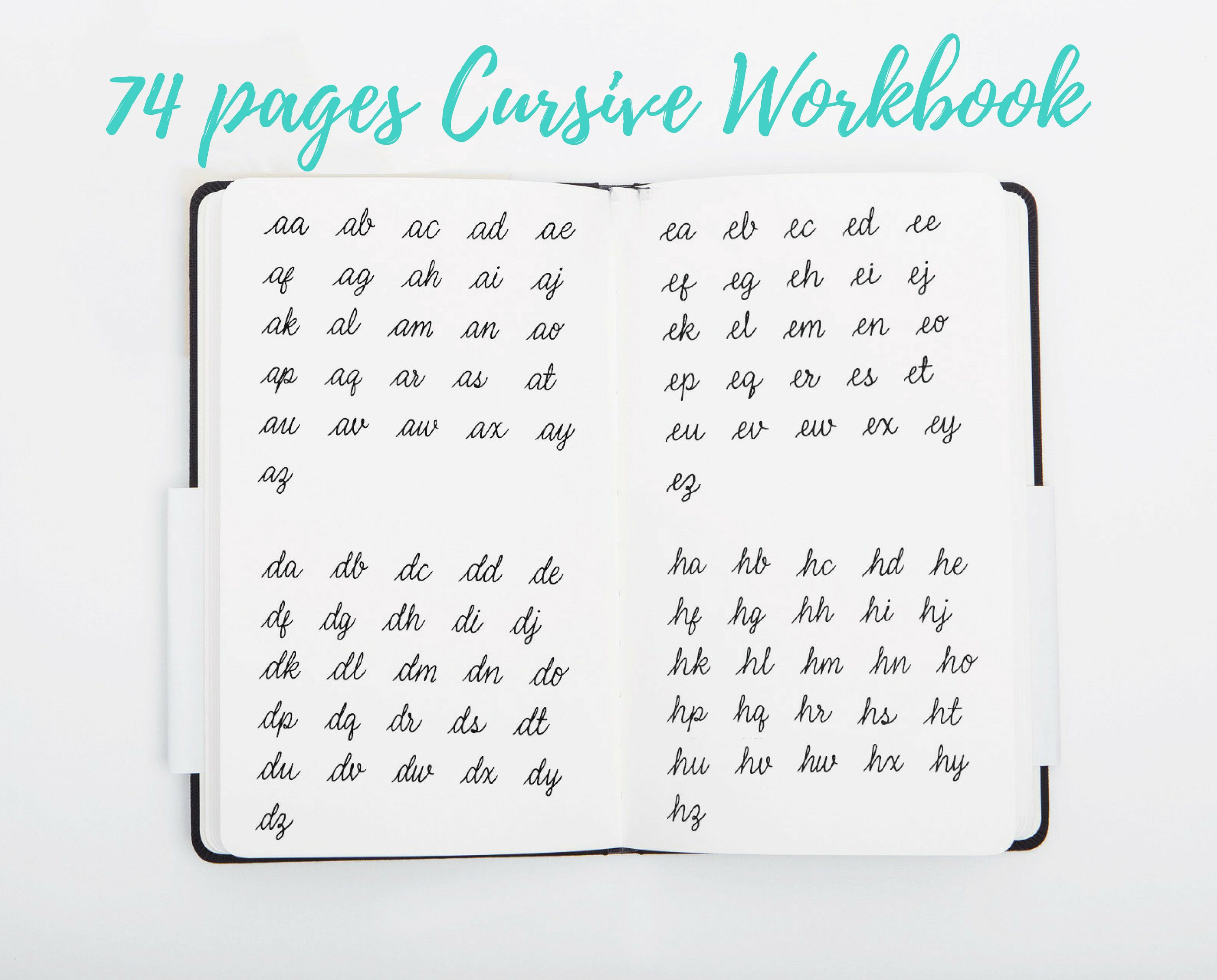 Cursive Worksheets Uppercase And Lowercase Cursive