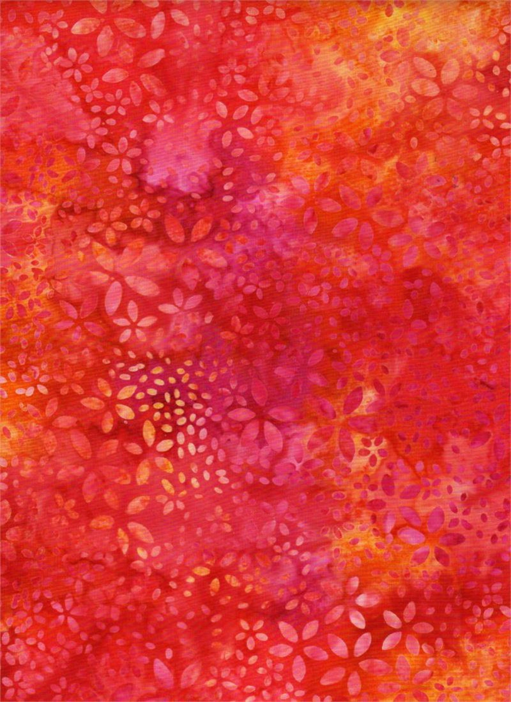 Indonesian Batik Fabric-100/% Cotton Batik Fabric-Quilting Batik-Red