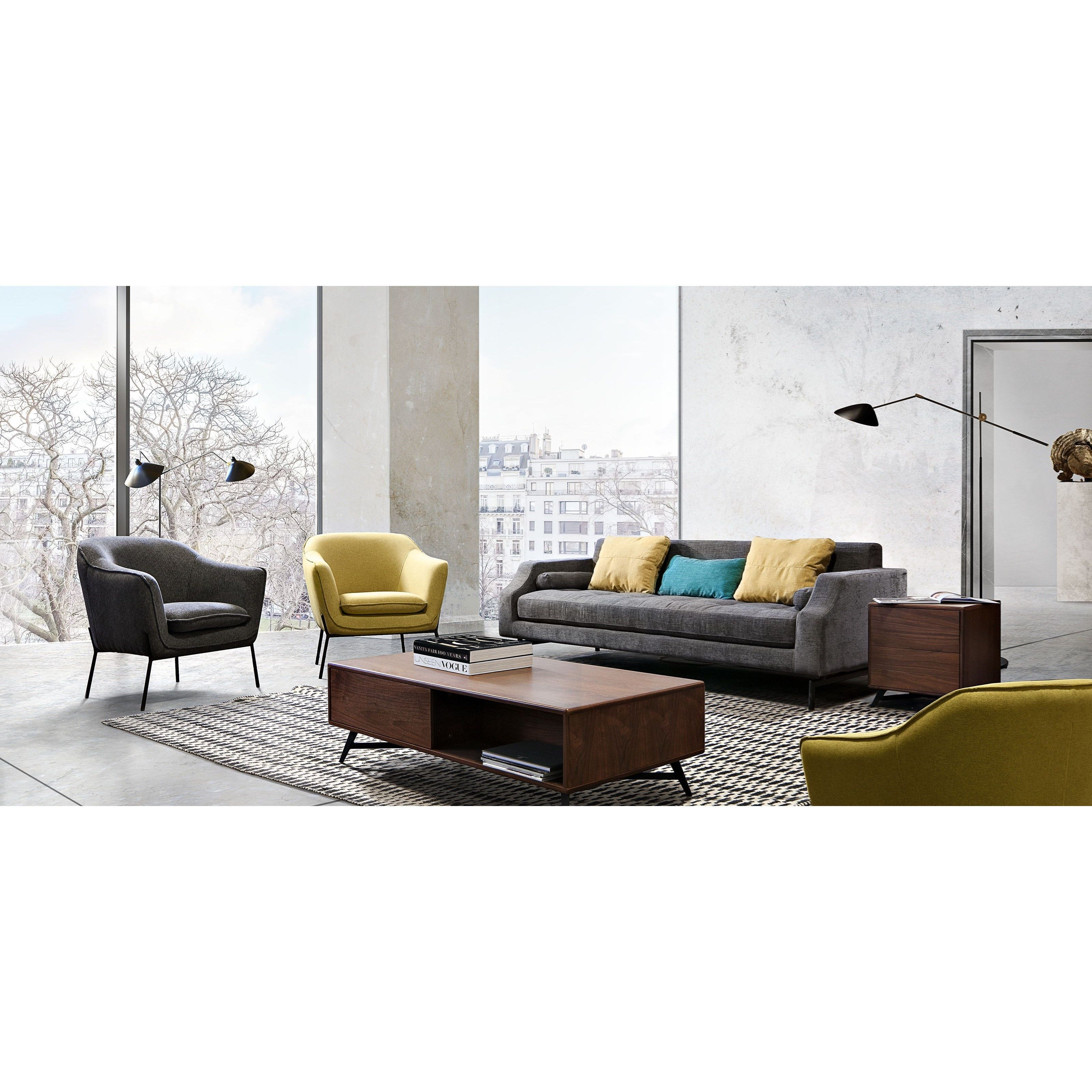 Diamond Sofa Status Chair Red Knot Grayfurniture Yellow Contemporary Redknothawaii