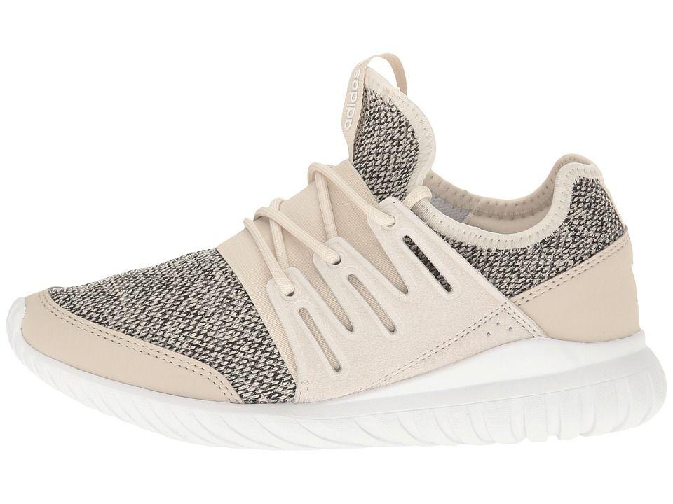 Adidas originali bambini tubulare (ragazzo), figli di scarpe radiale chiaro
