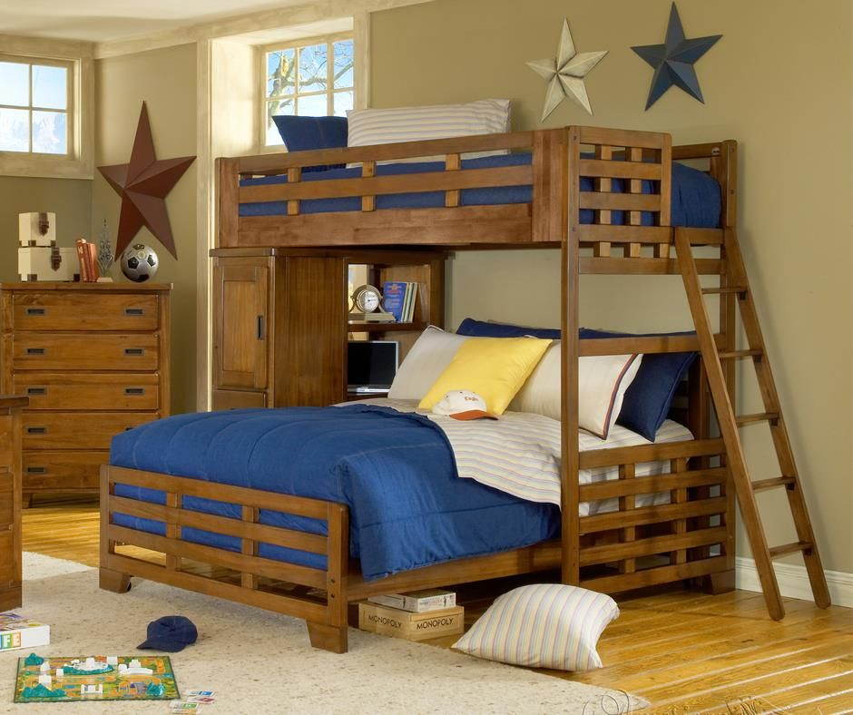 Loft Bedrooms For Kids Hunted Interior Bed Designs Young: 44 Cool And Insanely Fun Kids Loft Beds (With Images