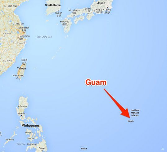 Guam map | Wish | Pinterest | Guam