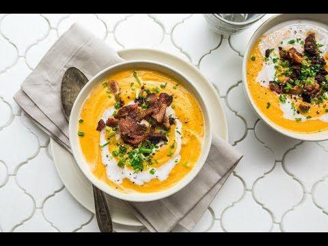 Paleo Butternut Squash Soup | Yuri Elkaim