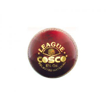 Product Description The Cosco League Cricket Ball Official Size And Weight Features Alum Tanned Cricket Ball 4 Pcs Constructi With Images Cricket Balls Cricket Cosco