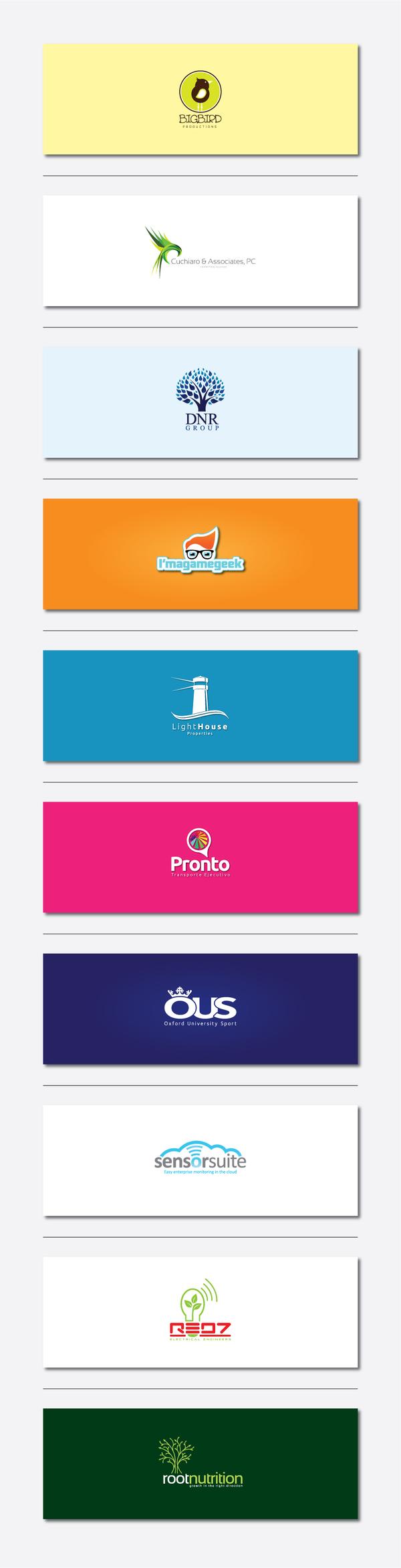 Logo Projects by rockadero , via Behance
