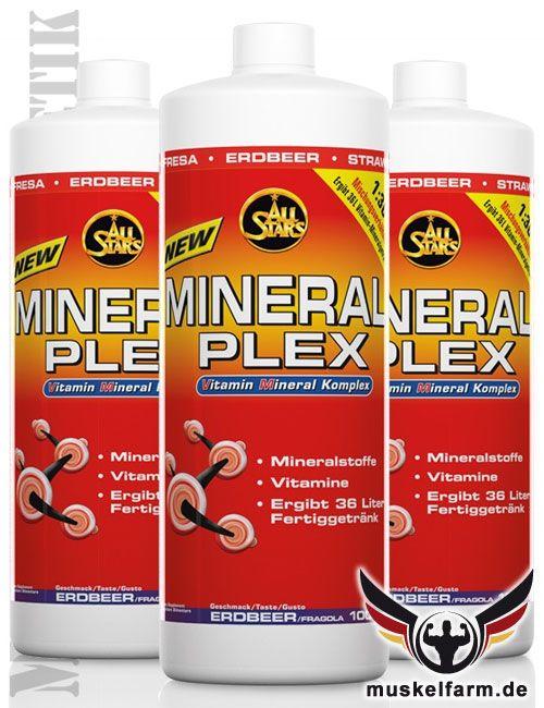 All Stars Mineral Plex + L-Carnitin, kalorienarmes Mineralgetränke ...
