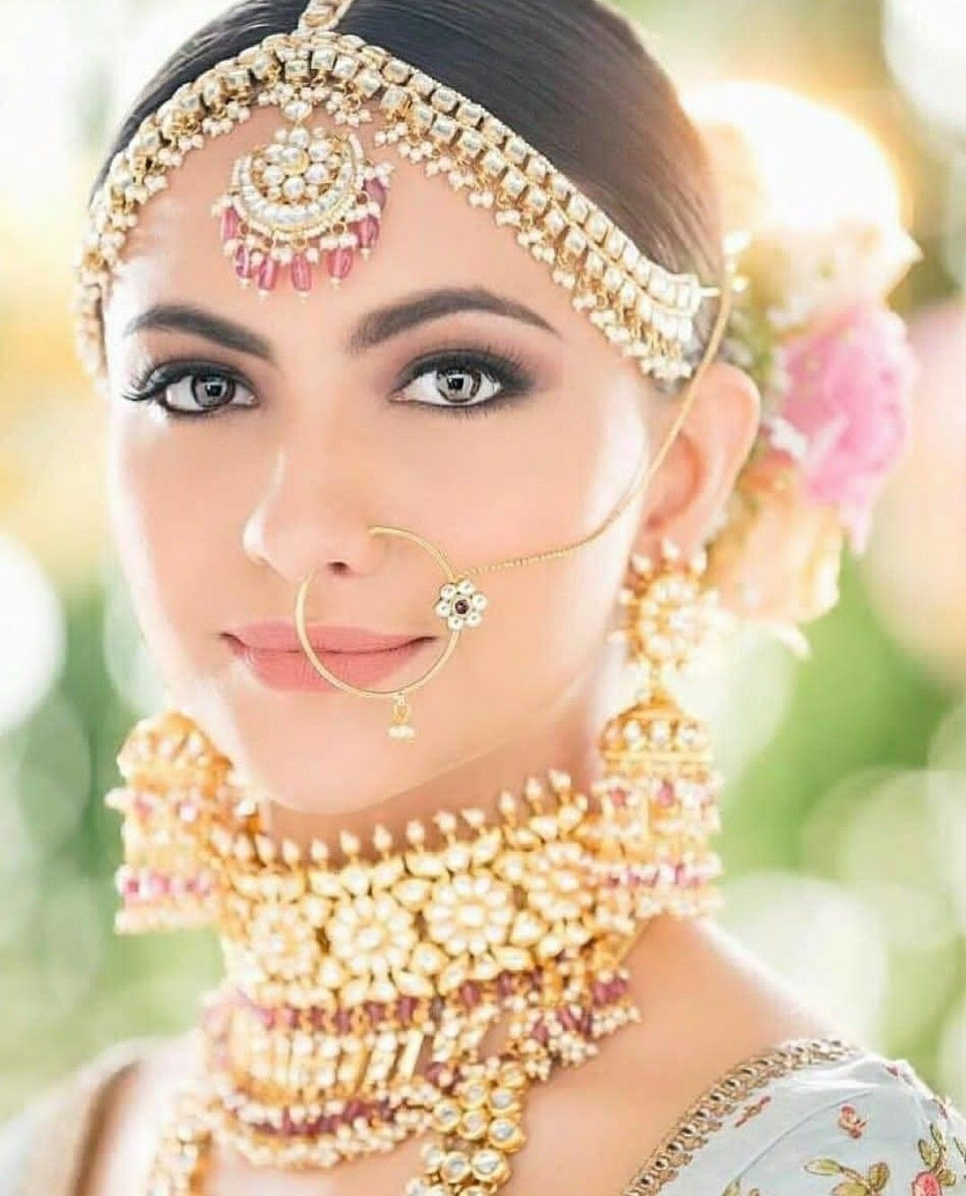 See through nose piercing  Shailaja Datta shailajadatta on Pinterest