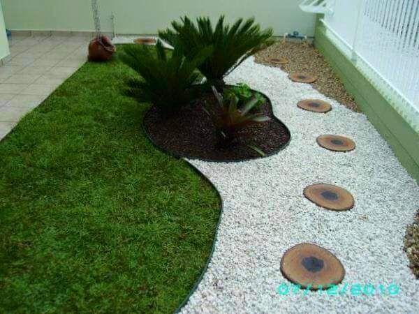 Ideas para jardines peque os con piedra jardines for Jardines modernos con piedras