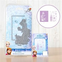 Disney Frozen Melded Elsa Castle Die with Stamp Set (376352) | Create and Craft