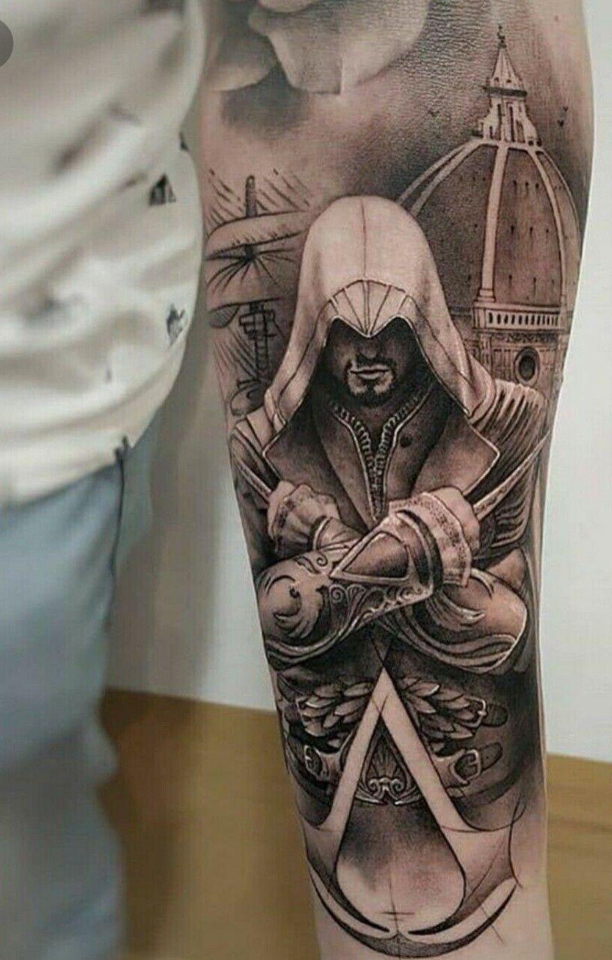 50++ Assassins tattoo information