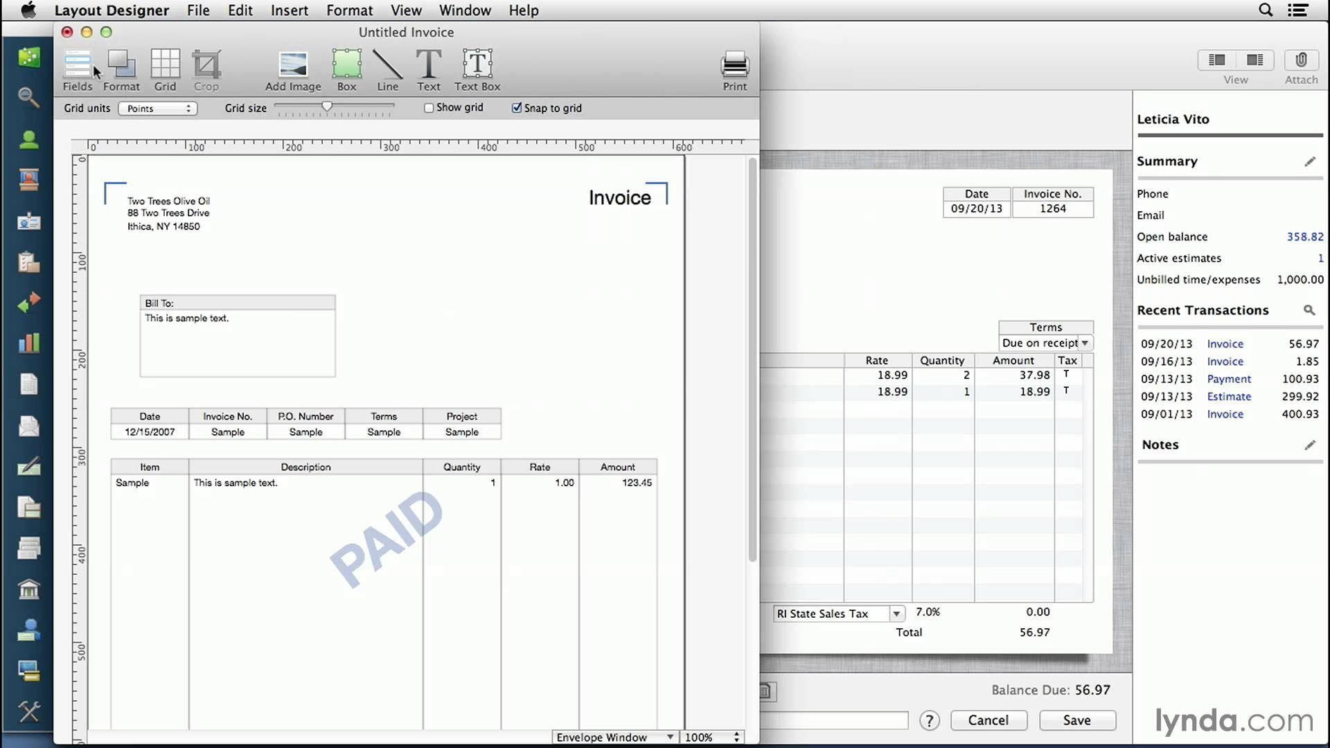 Quickbooks For Mac Tutorial Customizing Invoices And Forms Quickbooks Invoice Templates Invoice Template Microsoft Word Invoice Template Mac Tutorial