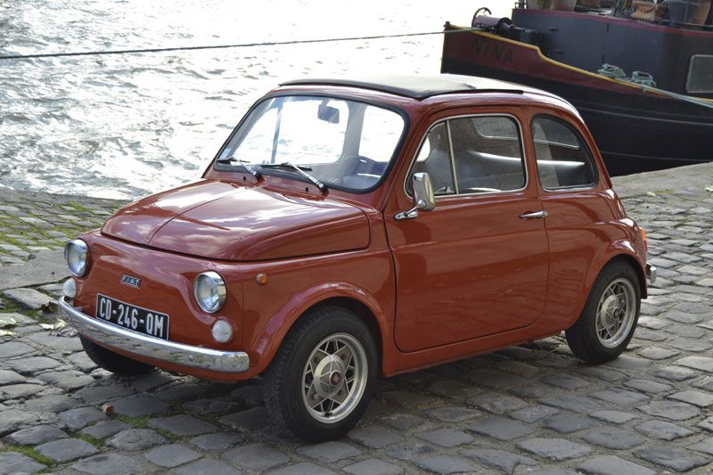 fiat 500 r rouge corail 1973 fiat 500 pinterest. Black Bedroom Furniture Sets. Home Design Ideas