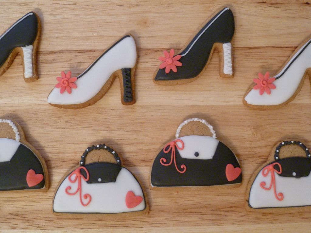 Gingerbread shoes and handbags by Rebeckington on deviantART