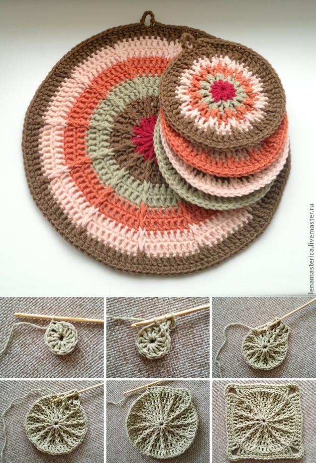 ВЯЗАНИЕ МОТИВЫ КРЮЧОК | Crochet - Kitchen | Pinterest