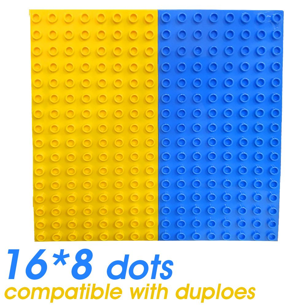 Toys for kids 8 and up  Xpcs Base Plate Bricks Toy Kids Particles Baseplate Exlarge Brick