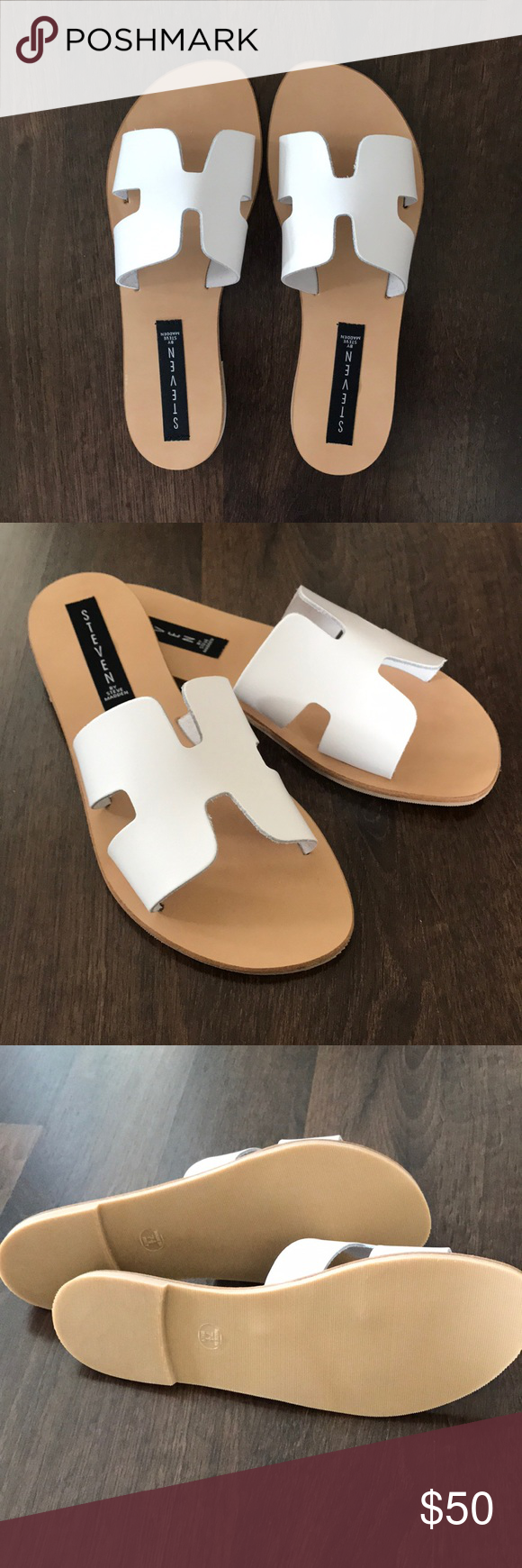 63c2a350034 Steven by Steve Madden Greece Sandals BNWT. Never been worn- perfect  condition! They run a little small