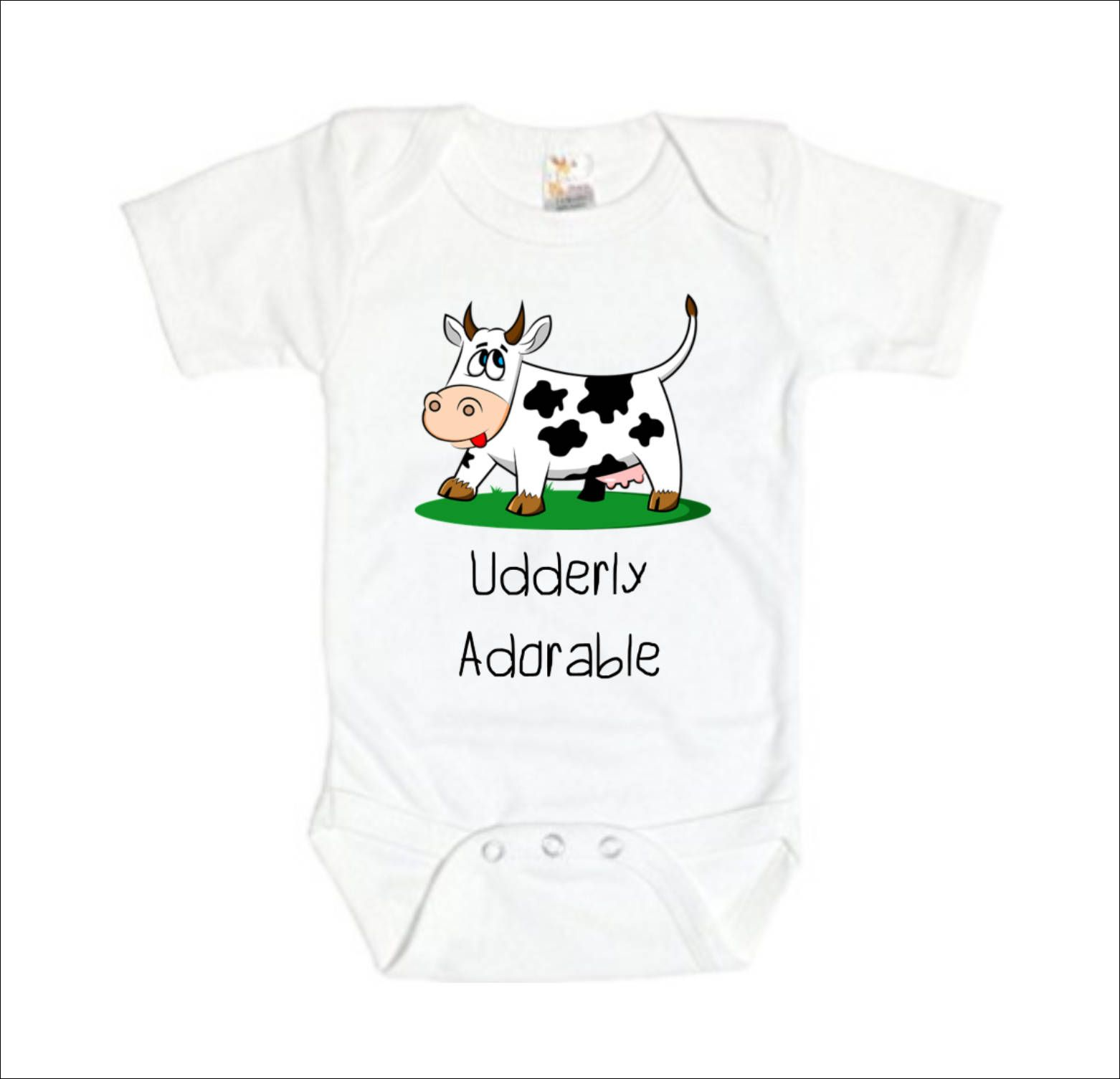 f4d3ba2aa Cow Baby Outfit, Udderly Adorable Clothes, Cow Baby Shower, Farmer Baby  Clothes, Farm Baby Clothes, Farm Animals Gift, Moo Cow Shirt, ...