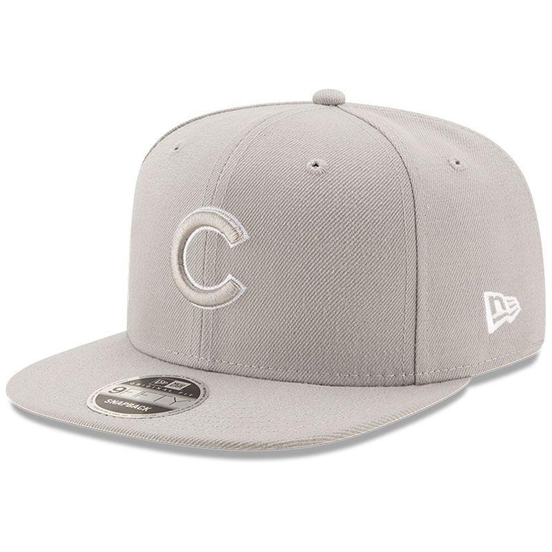 outlet store d1d32 6e1e3 ... wholesale chicago cubs new era league basic original fit 9fifty  adjustable snapback hat graphite e64dd ec1ae