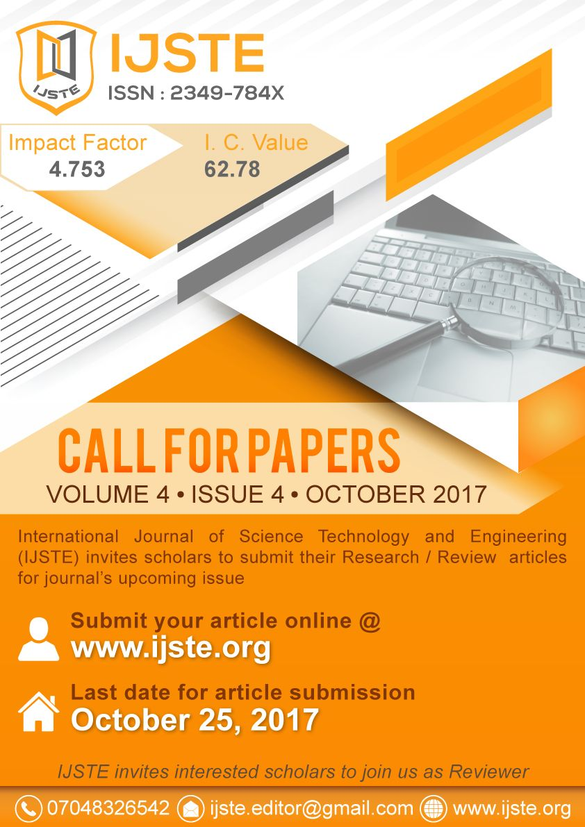 Ijste Is Peer Reviewed Monthly Online International Research Journal Thesis Publication Publishes From All Science Journal Research Paper Research Scholar