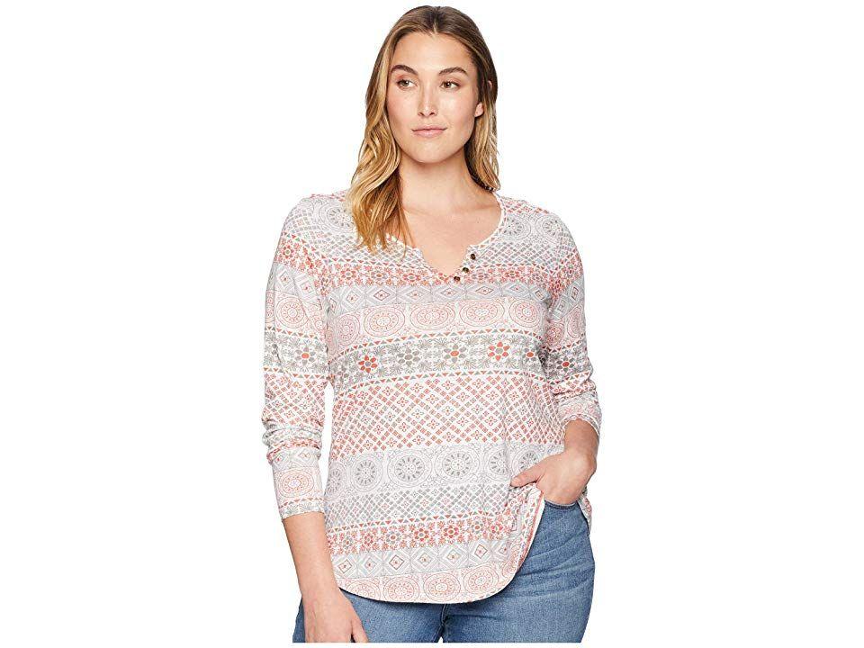 66adddb1f25 Aventura Clothing Plus Size Austen Long Sleeve Shirt (Burnt Sienna) Women s  Long Sleeve Pullover. This Aventura Clothing Plus Size Austen Long Sleeve  Shirt ...