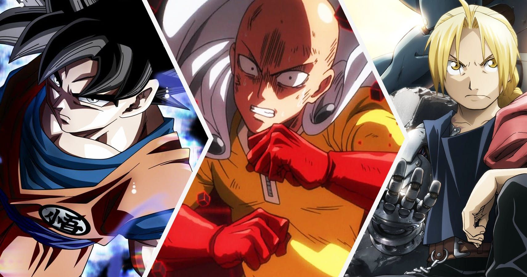 Top 25 Most Powerful Anime Characters Of AllTime, Ranked