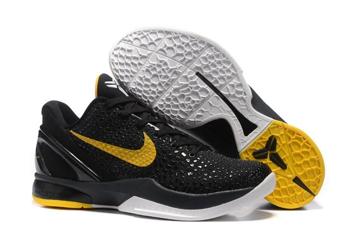 new style fa4ad 2b16e Nike Zoom Kobe VI 6 Imperial Purple Yellow Men Basketball Shoes Lakers Asg  White LA ASG OG